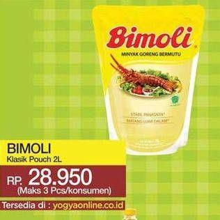 Promo Harga BIMOLI Minyak Goreng 2000 ml - Yogya