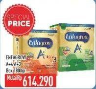 Promo Harga ENFAGROW Enfagrow A+4/A+3 Susu Pertumbuhan  - Hypermart