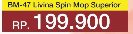 Promo Harga LION STAR Livina Spin Mop BM-47  - Yogya