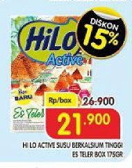 Promo Harga HILO Active Es Teler 175 gr - Superindo