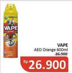 Promo Harga FUMAKILLA VAPE Aerosol Orange 600 ml - Alfamidi