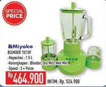 Promo Harga MIYAKO BL 152 Blender GF  - Hypermart