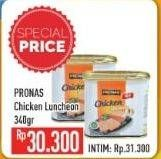 Promo Harga PRONAS Daging Ayam Luncheon 340 gr - Hypermart