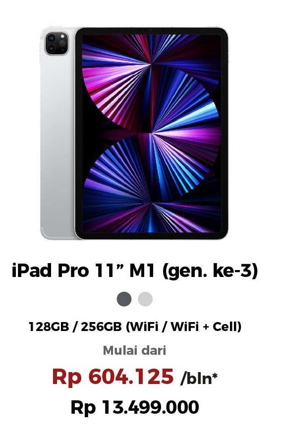 Promo Harga APPLE iPad Pro 11 Inch - iBox   Hemat.id