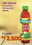 Promo Harga TEH GELAS Tea Original 350 ml - Indomaret