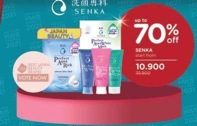Promo Harga SENKA SENKA Perfect Whip Facial Foam/ Perfect Mask  - Watsons