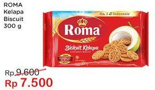 Promo Harga ROMA Biskuit Kelapa 300 gr - Indomaret