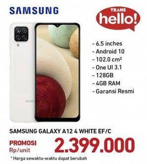Promo Harga SAMSUNG Galaxy A12  - Carrefour