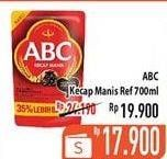 Promo Harga ABC Kecap Manis 700 ml - Hypermart