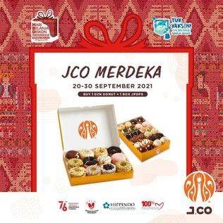 Promo Harga JCO JCO Donut + JPOPS  - JCO