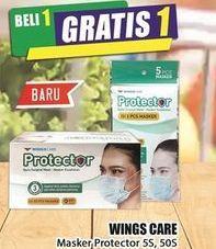 Promo Harga WINGS CARE Wings Care Masker  - Hari Hari
