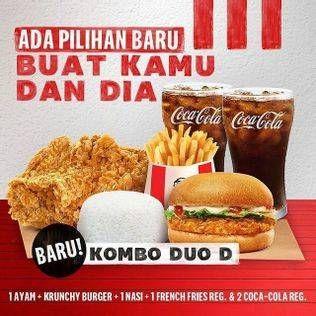 Promo Harga KFC Kombo Duo Kombo D  - KFC