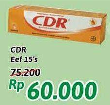 Promo Harga CDR Suplemen Makanan 20 pcs - Alfamidi