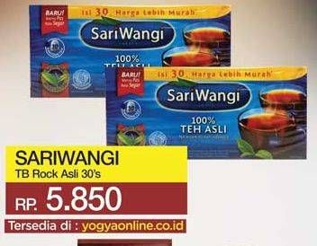 Promo Harga SARIWANGI Teh Asli 30 pcs - Yogya