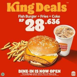 Promo Harga BURGER KING  - Burger King
