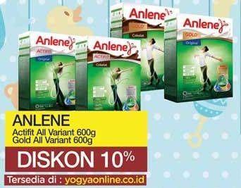 Promo Harga ANLENE Anlene Actifit/Gold Susu High Calcium  - Yogya