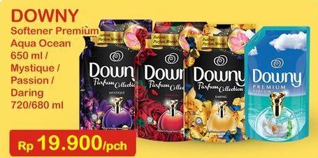 Promo Harga DOWNY Parfum Collection Daring, Mystique, Passion 680 ml - Indomaret