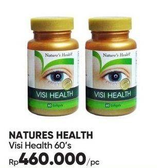 Promo Harga NATURES HEALTH Visi Health 60 pcs - Guardian