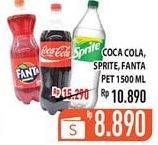 Promo Harga COCA COLA COCA COLA, FANTA, SPRITE  - Hypermart
