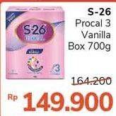 Promo Harga S26 Procal Susu Pertumbuhan Vanilla 700 gr - Alfamidi
