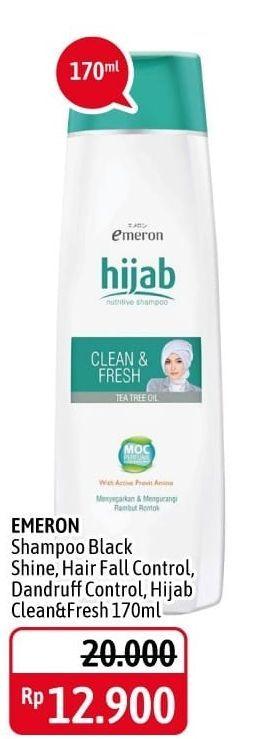 Promo Harga EMERON Shampoo Hijab Clean Fresh 170 ml - Alfamidi