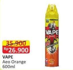 Promo Harga FUMAKILLA VAPE Aerosol Orange 600 ml - Alfamart