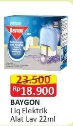 Promo Harga BAYGON Liquid Electric Lavender 22 ml - Alfamart