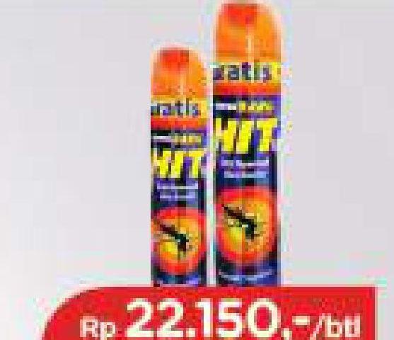 Promo Harga HIT Aerosol Orange 450 ml - TIP TOP