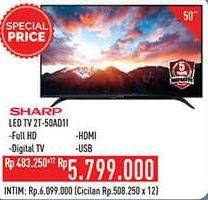 "Promo Harga SHARP 2T-C50AD1i Full-HD 50""  - Hypermart"