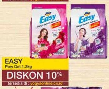 Promo Harga ATTACK Easy Detergent Powder Purple Blossom, Romantic Flowers 1200 gr - Yogya