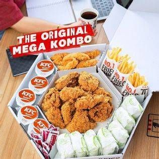 Promo Harga KFC Mega Kombo  - KFC
