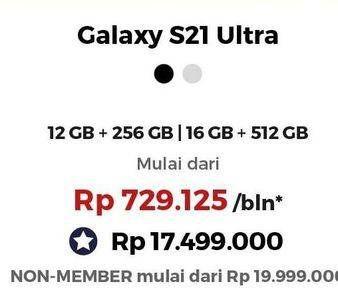 Promo Harga SAMSUNG Galaxy S21 Ultra  - Erafone