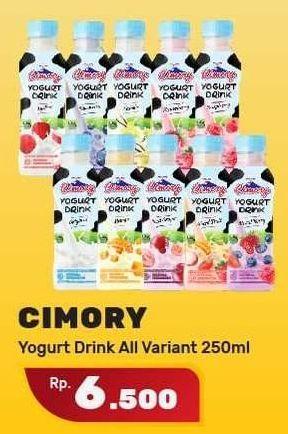 Promo Harga CIMORY Yogurt Drink All Variants 250 ml - Yogya