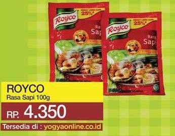 Promo Harga ROYCO Penyedap Rasa Sapi 100 gr - Yogya