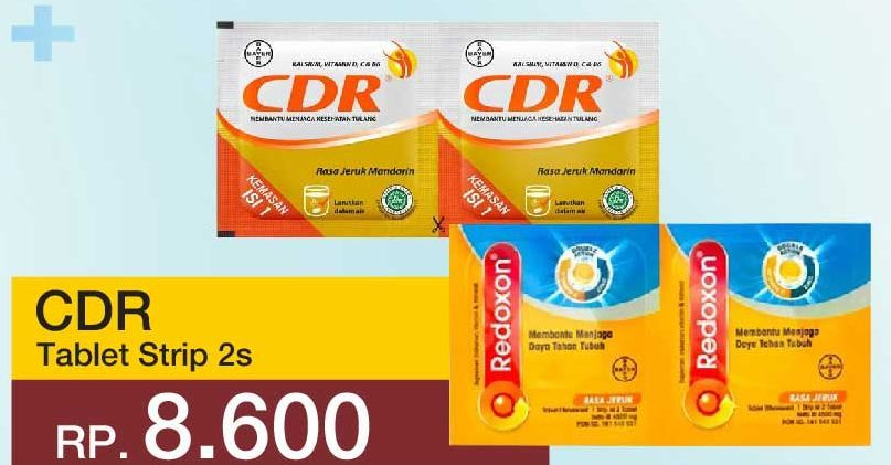 Promo Harga CDR Suplemen Makanan Jeruk per 2 sachet 1 pcs - Yogya