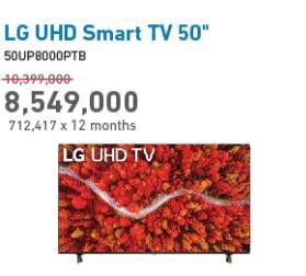 Promo Harga LG 50UP8000PTB  - Electronic City
