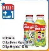 Promo Harga MORINAGA Chil Go UHT Melon Madu, Original 130 ml - Hypermart