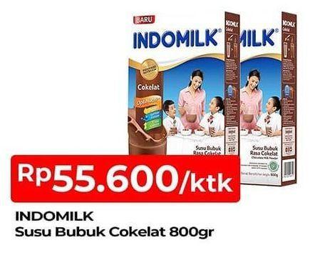 Promo Harga INDOMILK Susu Bubuk Cokelat 800 gr - TIP TOP