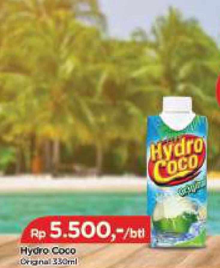 Promo Harga HYDRO COCO Minuman Kelapa Original 330 ml - TIP TOP