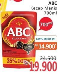 Promo Harga ABC Kecap Manis 700 ml - Alfamidi