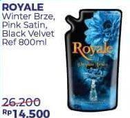 Promo Harga SO KLIN Royale Parfum Collection Black Velvet, Winter Breeze, Pink Satin 800 ml - Alfamart