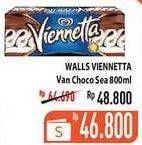 Promo Harga WALLS Ice Cream Viennetta Choco Vanila 800 ml - Hypermart