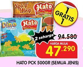 Promo Harga HATO HATO Produk (Semua Jenis)  - Superindo