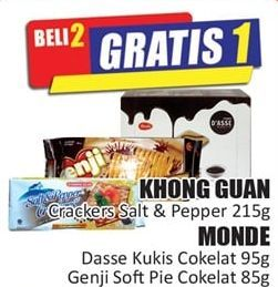Promo Harga KHONG GUAN KHONG GUAN/MONDE  - Hari Hari