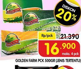 Promo Harga GOLDEN FARM Sayuran Beku 500 gr - Superindo