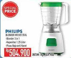 Promo Harga PHILIPS HR 2057 | Blender  - Hypermart