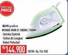 Promo Harga MIYAKO Miyako Iron E1 1000M/1008M  - Hypermart