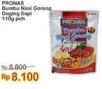 Promo Harga PRONAS Bumbu Nasi Goreng Daging Sapi 110 gr - Indomaret