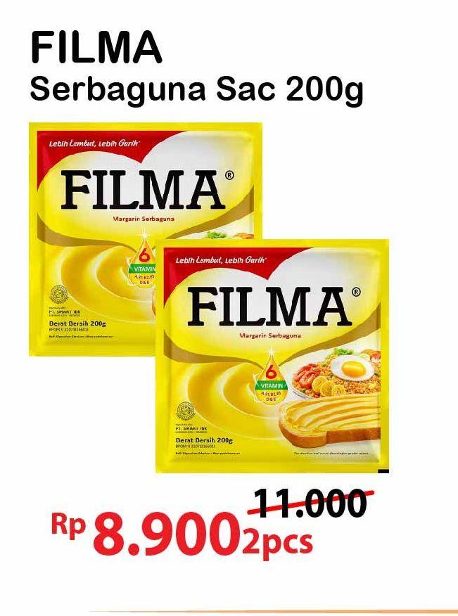 Promo Harga FILMA Margarin 200 gr - Alfamart