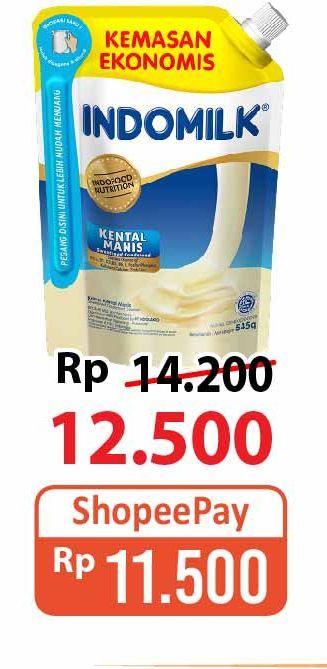 Promo Harga INDOMILK Susu Kental Manis Plain 545 gr - Alfamart